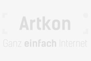 Bogenbau-Dummy-Image mit dem Logo der Webagentur Artkon. Platzhalter für Bilder.
